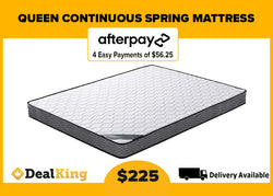 QUEEN CONTINUOUS SPRING MATTRESS
