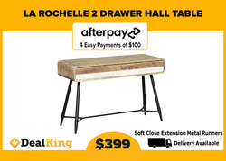 LA ROCHELLE 2 DRAWER HALL TABLE
