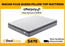 QUEEN PILLOW TOP POCKET SPRING MATTRESS