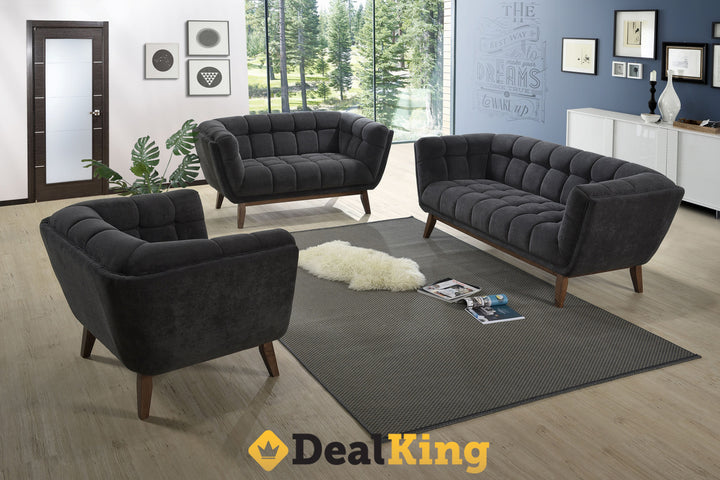 3 + 2 SEATER LOUNGE SUITE GREY