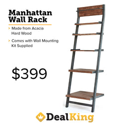 MANHATTAN WALL RACK