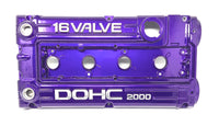 "4G63 ""Dormant Purple"" Powder Coated Valve Cover -10AN"