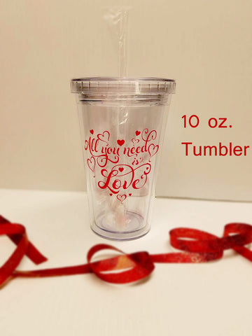 Flower girl gift -Ringbearer gift - Personalized gift - Kids cups - Tumbler with straw - Straw cup - bridal party gifts - child cup