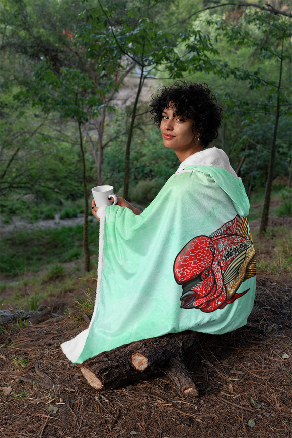 Flowerhorn Hooded Blanket Wildstyle Collection