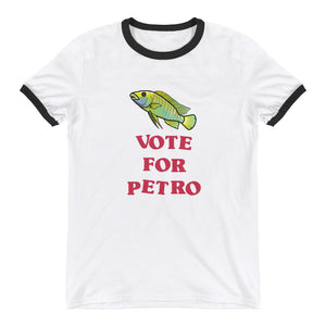 "Vote For Petro Ringer T-Shirt | Petrochromis ""Green"" macracanthus"