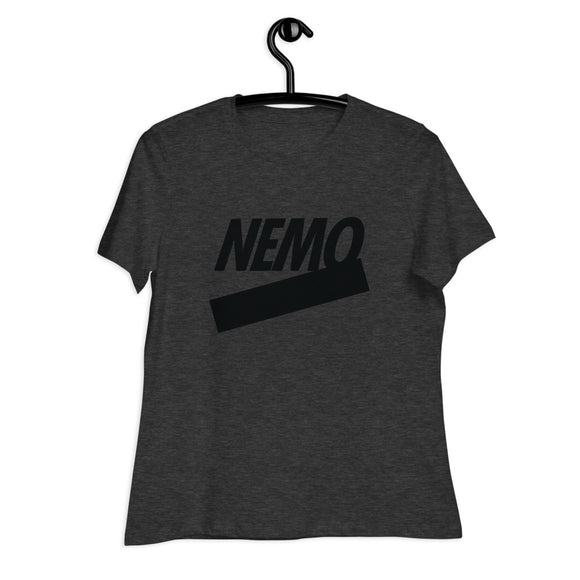 Nemo Black Women's T-Shirt