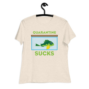 2D Quarantine Sucks L200 Pleco Women's T-Shirt