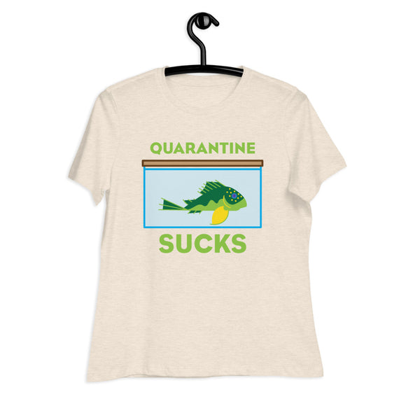 Quarantine Sucks L200 Pleco Women's T-Shirt | 2D