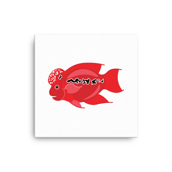 Flowerhorn Super Red Dragon 2D Canvas 12