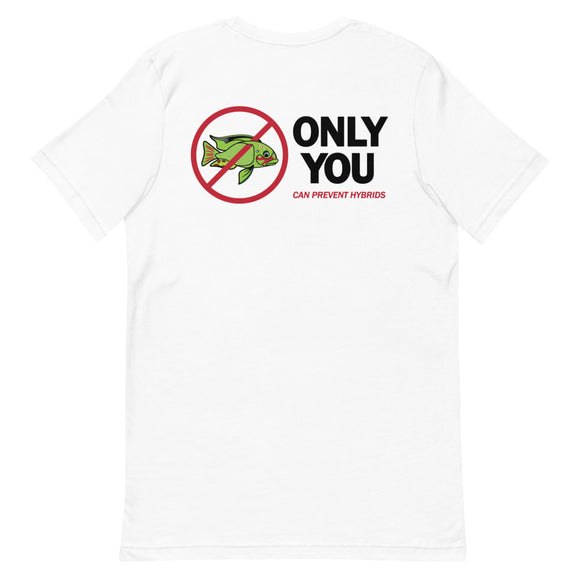 Only You Can Prevent Hybrids Frankenfish Edition Short-Sleeve T-Shirt