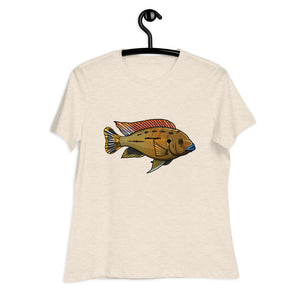 "Pseudotropheus sp. williamsi north ""blue lips"" Women's T-Shirt"