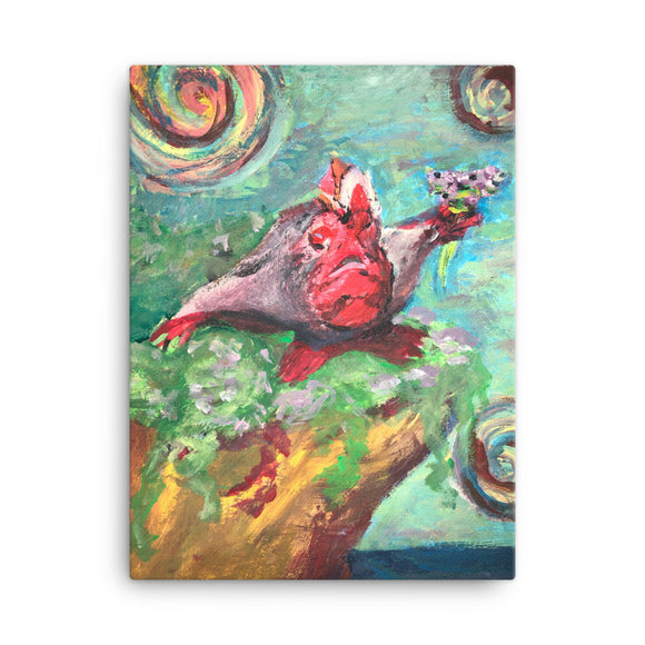 Farewell Handfish Canvas