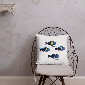 Tropheus Duboisi Variants Pillow