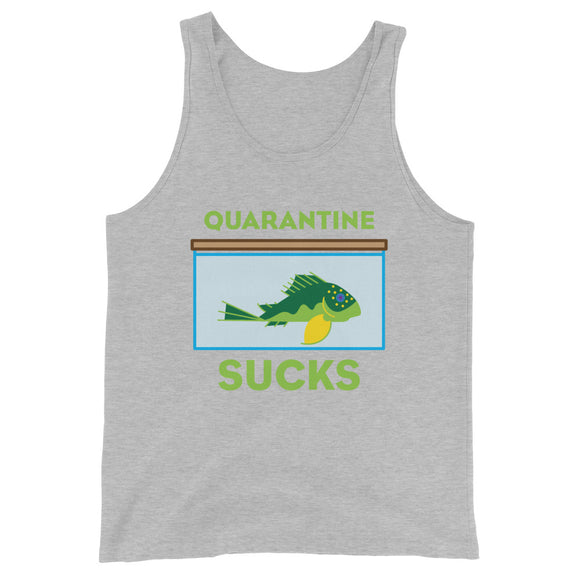Quarantine Sucks L200 Pleco 2D Tank Top