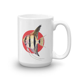 "Pterophyllum scalare ""angel fish"" Coffee Cup - Zoological Collection"