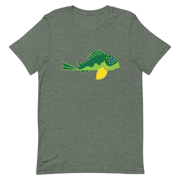 L200 Green Phantom Plecostomus Short-Sleeve T-Shirt