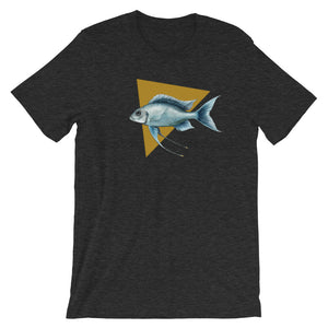 Ophtalmotilapia Ventralis Short-Sleeve Unisex T-Shirt - Zoological Collection