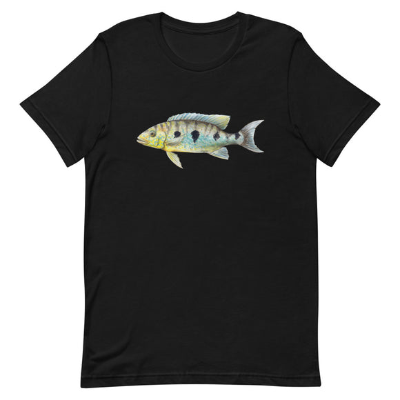 Boulengerochromis Microlepis Giant Emperor CIchlid T-Shirt | ZooCo