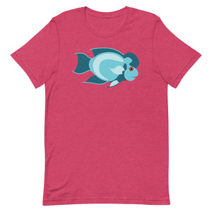 2D Thai Silk Flowerhorn T-Shirt