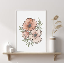 Load image into Gallery viewer, Poppy Digital Print