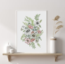 Load image into Gallery viewer, Wildflowers Digital Print