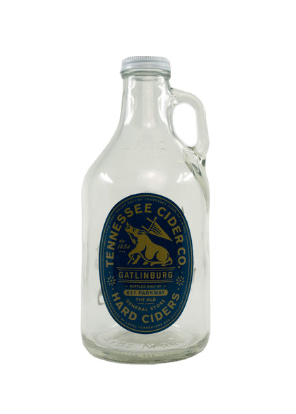 Tennessee Cider Co. Glass Growler
