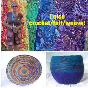 Crochet Felted Home Decor Accessories