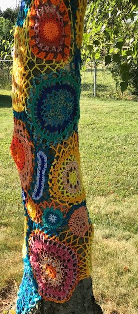 Yarnbomb - Custom per your needs, and we all need a good yarnbomb!