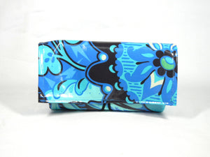 Waterproof Coupon Organizer Blue Orchid