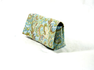 Coupon Holder paisley fabric