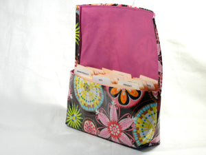 Waterproof Carnival Bloom Coupon Organizer Holder