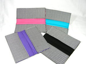 Checkbook Covers and Wallets Houndstooth