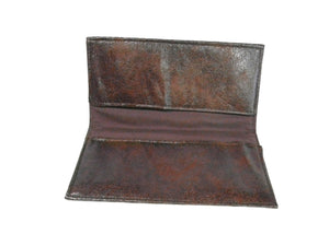 Checkbook Cover Faux Leather Ultra Suede Fabric