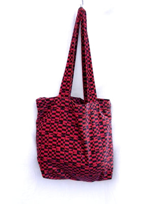 Tote and Market Bag Psychedelic Velvet
