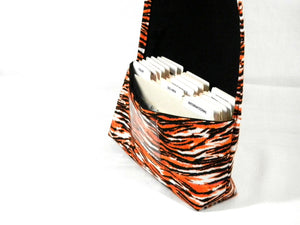 coupon organizer Tiger print