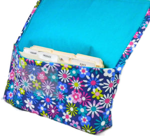 Coupon Organizer Happy Floral Fabric