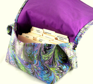 Coupon Purse Marbleized Fabric
