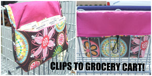 Coupon Organizer Clips to Cart