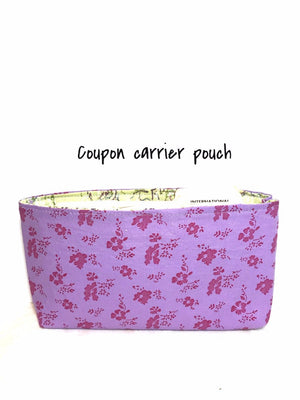 Coupon Carrier Pouch