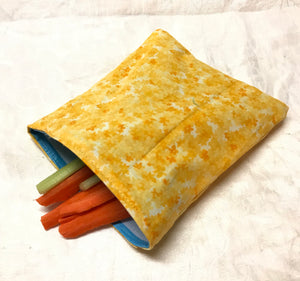 Reusable Sandwich bag Eco Friendly Yellow
