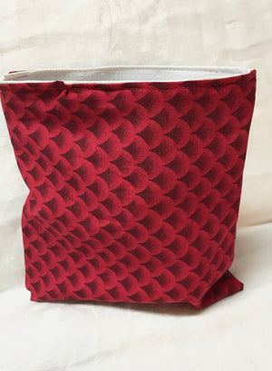 Reusable Sandwich bag Eco Friendly Red
