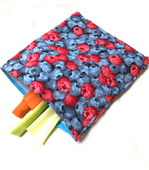 Reusable Sandwich bag Eco Friendly Berries
