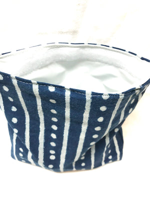 Reusable Sandwich bag Eco Friendly Blue stripe