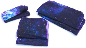 Paper Towels Cotton Flannel Print Milky Way Galaxy