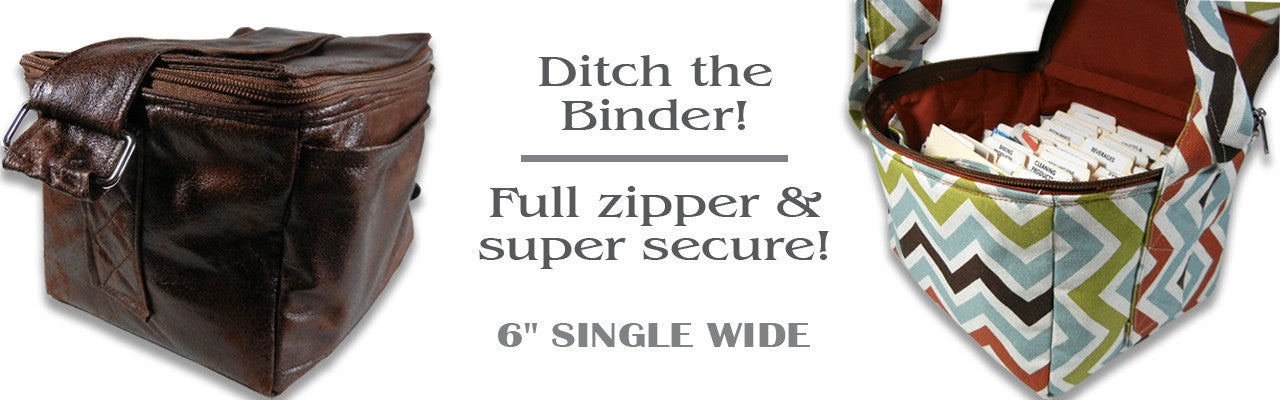 "6"" Single Wide Coupon Organizers"