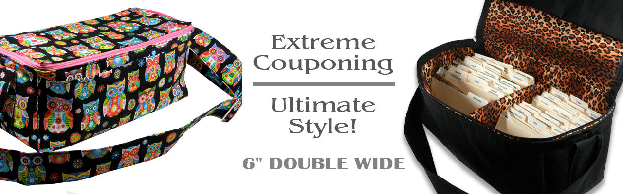 "6"" Double Wide Coupon Organizers"