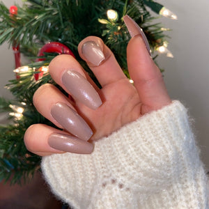 Shimmery Taupe