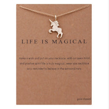 "Load image into Gallery viewer, PATCO ""LIFE IS MAGICAL"" NECKLACE"