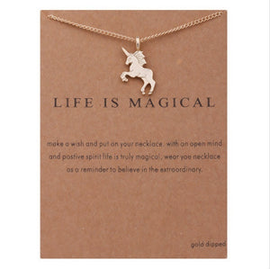 "PATCO ""LIFE IS MAGICAL"" NECKLACE"