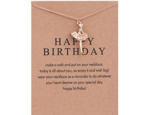 "PATCO ""HAPPY BIRTHDAY"" NECKLACE"